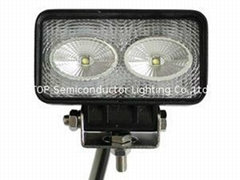 """4.3"""" 20W CREE LED flood work auto driving fog lamps for truck tractors ATV SUV"""