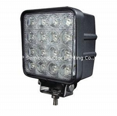 "4.3""  48W LED car work lamp truck offroad driving light 4x4 ATV SUV"