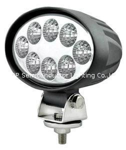 "5.5"" 24W 10-60V  椭圆 LED 工作灯泛光灯沙滩灯越野灯检修灯日行灯 1"