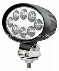 24W  橢圓 LED 工作燈,氾光燈,沙灘燈