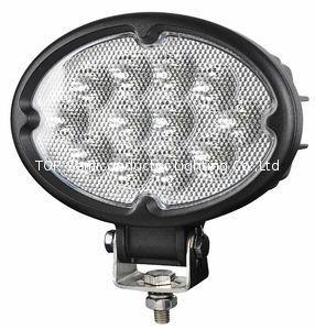 """6.8"""" 36W CREE 橢圓形 LED 工作燈氾光燈沙灘燈越野燈駕駛燈 1"""