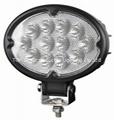 "6.8"" 36W CREE oval LED work light"