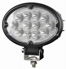 """6.8"""" 36W CREE 橢圓形 LED 工作燈氾光燈沙灘燈越野燈駕駛燈"""
