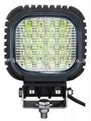 "5"" 48W CREE LED 工作燈氾光燈沙灘燈越野燈檢修燈"