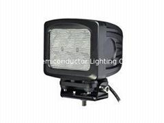 "5"" 60W CREE LED 工作灯 越野灯泛光灯 沙滩灯 检修灯"