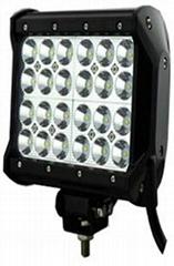 72W 四排CREE單顆3W LED長條燈