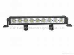 45W Single Row CREE 5W each LED Light Bar