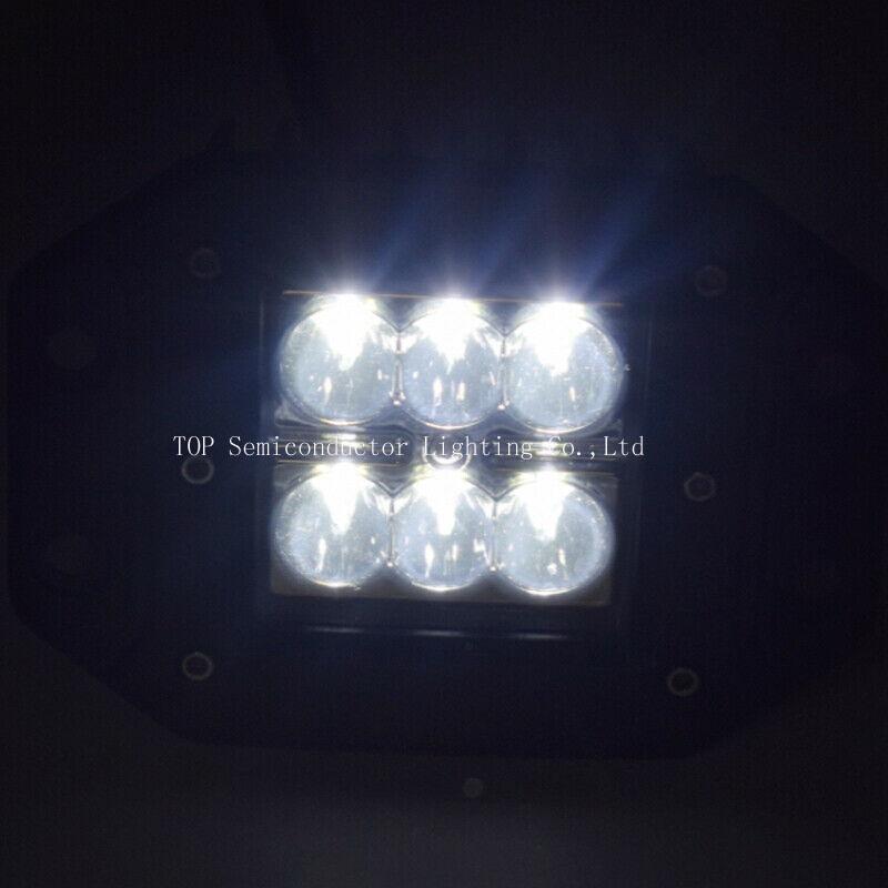 """4.8"""" 18W CREE LED 工作灯越野灯泛光灯沙滩灯检修灯 6"""