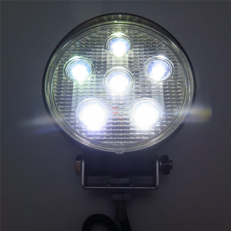 """4.5"""" 18W 防水圓形LED工作燈檢修燈業燈日行燈越野燈沙灘燈 4"""