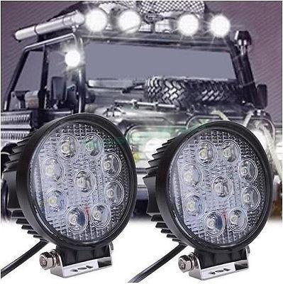 """4.3"""" 圆形27W LED工作灯作业灯车灯汽车灯工程灯越野灯沙滩灯 4"""
