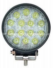 "4.6""  42W LED spot flood work lamp truck offroad driving light 4x4 ATV SUV"
