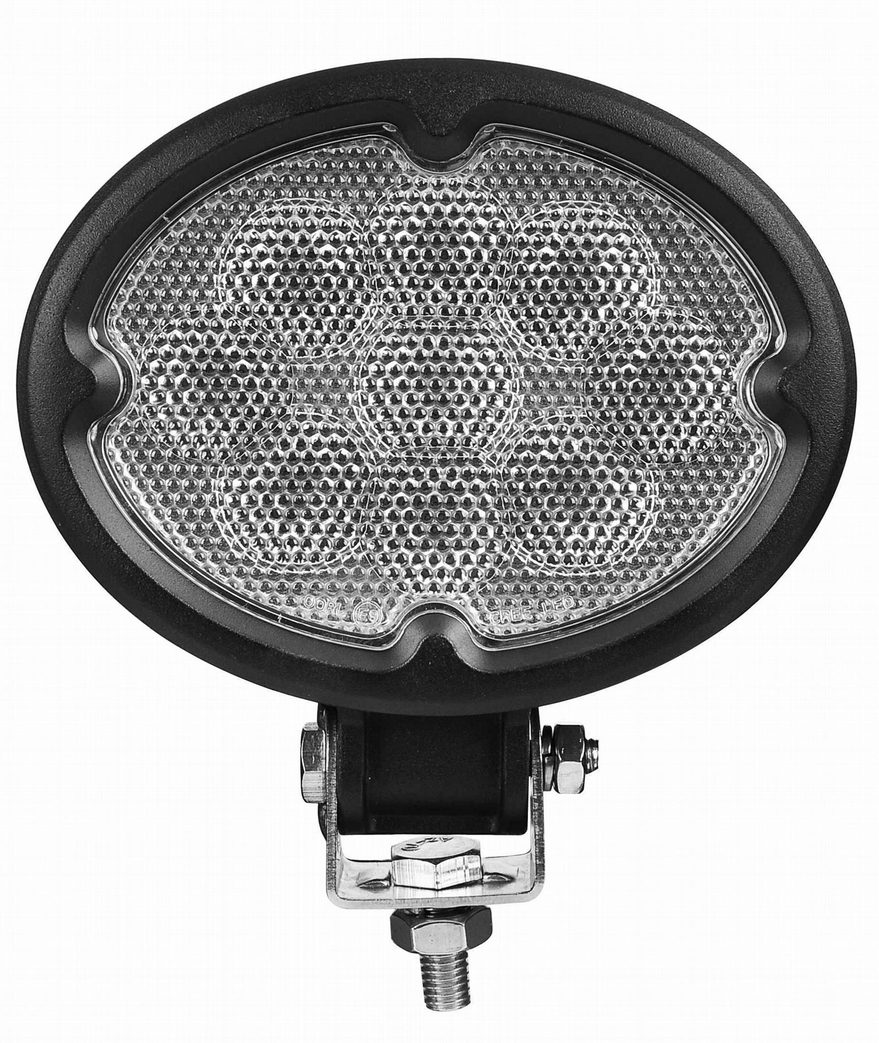 "5.8"" 27W CREE 椭圆形 LED 工作灯泛光灯沙滩灯越野灯驾驶灯 1"