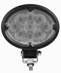 "5.8"" 27W CREE 椭圆形 LED 工作灯泛光灯沙滩灯越野灯驾驶灯"