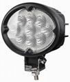 "5.8"" 27W CREE 椭圆形 LED 工作灯泛光灯沙滩灯越野灯驾驶灯 2"