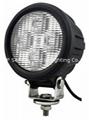 "4.7"" 40W CREE LED work driving lamp"