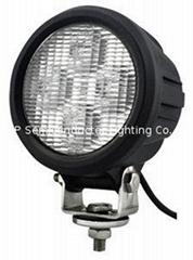 "4.7"" 40W CREE LED 工作燈氾光燈沙灘燈越野燈檢修燈"
