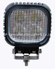 "5"" 40W CREE LED 工作灯泛光灯沙滩灯越野灯检修"