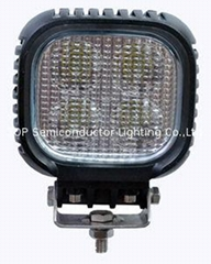 "5"" 40W CREE LED work driving lamp forklift off road lighting ATV SUV lamps"