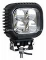 """5"""" 40W CREE LED 工作灯泛光灯沙滩灯越野灯检修灯 3"""
