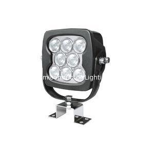 "7"" 80W CREE LED 工作燈氾光燈沙灘燈越野燈檢修燈 2"