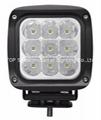 """5.3"""" 90W CREE LED 工作灯泛光灯沙滩灯越野灯检修灯 3"""