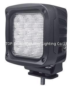 "5.3"" 90W CREE LED work flood driving lamp forklift off road lighting ATV SUV  2"
