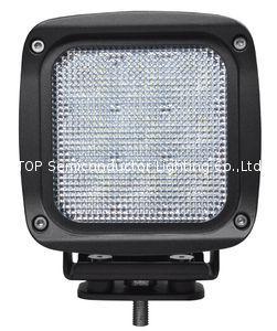 "5.3"" 90W CREE LED work flood driving lamp forklift off road lighting ATV SUV  1"