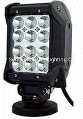 Four Row CREE LED  work light bar flood spot driving off road 4WD ATV SUV