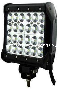 四排CREE灯珠直条工作灯泛光聚光驾驶灯越野灯4WD ATV SUV  3