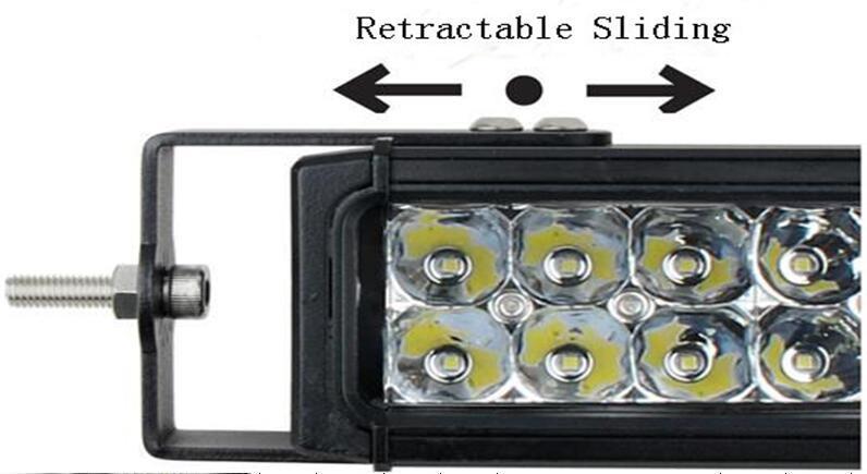 4D CREE燈珠工作燈氾光聚光駕駛燈越野燈4WD ATV SUV  1