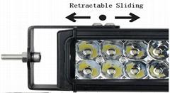 4D CREE燈珠工作燈氾光聚光駕駛燈越野燈4WD ATV SUV