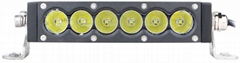 white+yellow CREE 5W/LED work light bar