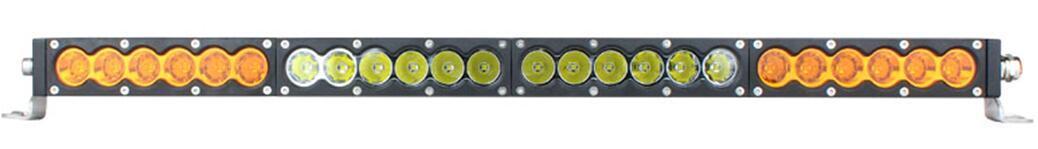 白黄CREE 5W/LED 工作灯泛光聚光驾驶灯越野灯4WD ATV SUV  4