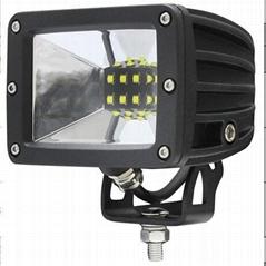 新款CREE 5W/LED 工作灯泛光聚光驾驶灯越野灯4WD ATV SUV