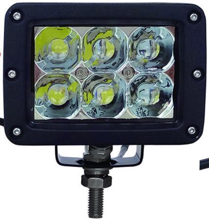 3D CREE 5W/LED 工作灯泛光聚光驾驶灯越野灯4WD ATV SUV  1