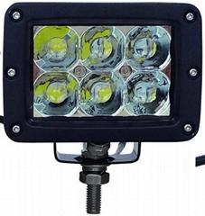 3D CREE 5W/LED 工作灯泛光聚光驾驶灯越野灯4WD ATV SUV