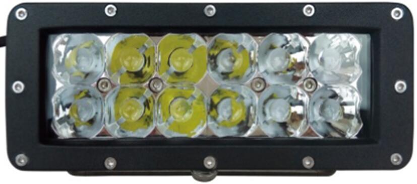 3D CREE 5W/LED 工作灯泛光聚光驾驶灯越野灯4WD ATV SUV  2
