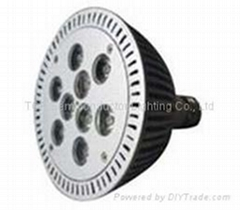 9*1W PAR38 High Power LED Spot Light(remote)