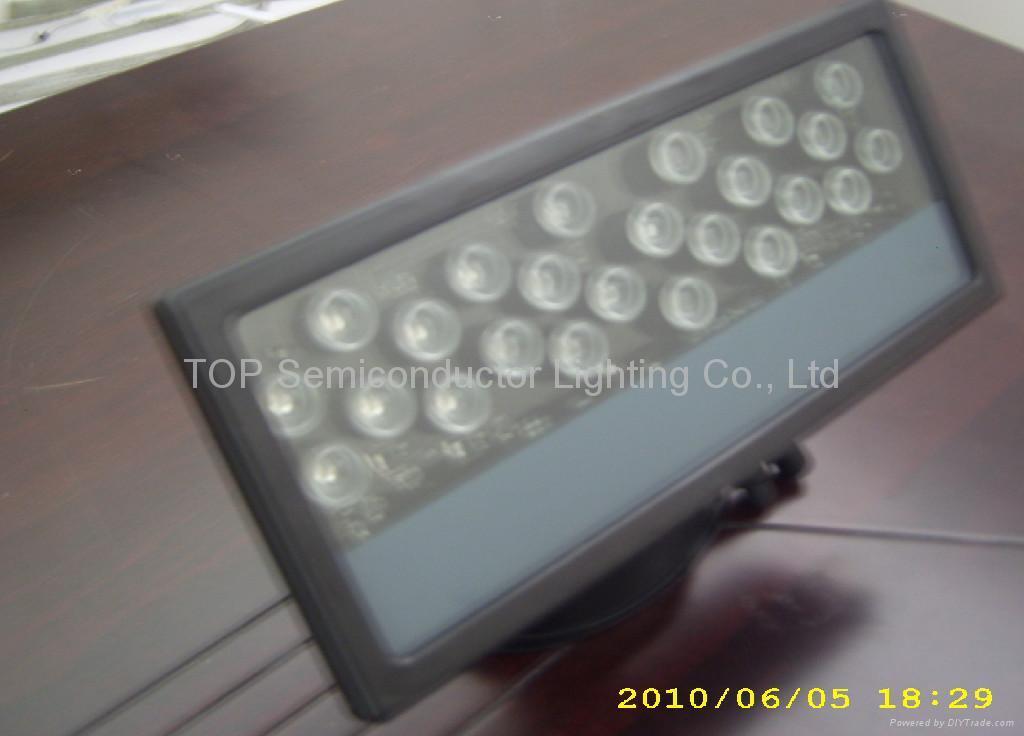 大功率LED 投光燈(24*1W) 1