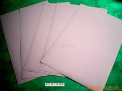 Zinc oxide resin coated paper