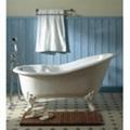 Clawfoot cast iron bathtub 5