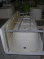 Apron acrylic bathtub  built-in with