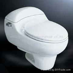 Best design wholesale bathroom ceramic sanitar one piece toilet closetool WC