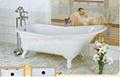 Best quality clawfoot cast iron bathtub hot selling 3