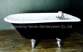 Best quality clawfoot cast iron bathtub hot selling 4