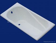 Enamel cast iron bathtub 1700*700*400mm for Russian Market