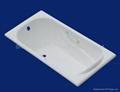 Enamel cast iron bathtub 1700*700*400mm 5