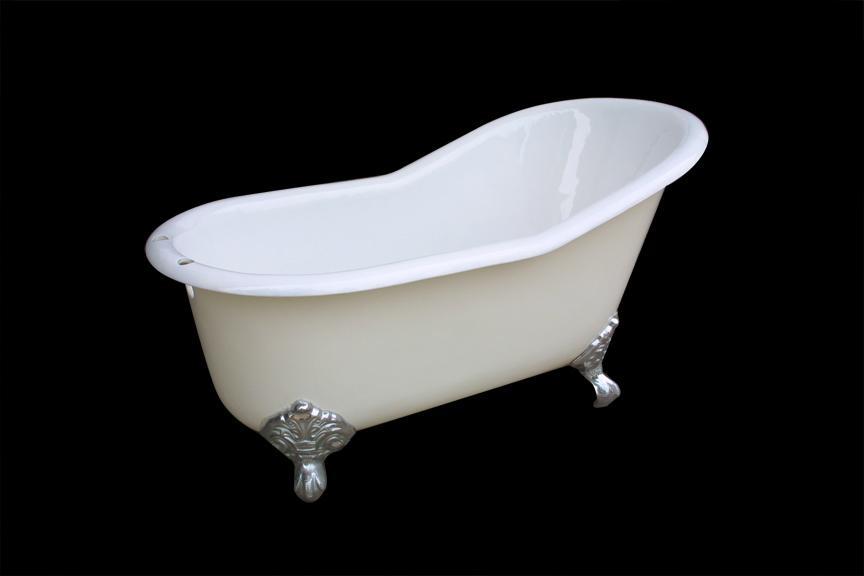 Classical royal clawfeet cast iron enamel bathtub  1