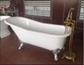 Classical royal clawfeet cast iron enamel bathtub  2