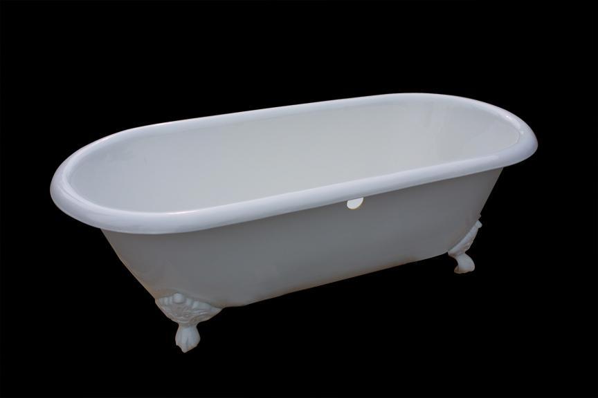 Classical royal clawfeet cast iron enamel bathtub  3